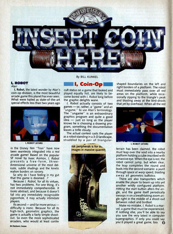I, Robot arcade