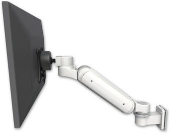 ICWUSA UL180シリーズ モニターアーム ディスプレイ用アーム 昇降式アーム 病院設備, 医療, ヘルスケア, デンタル, 歯科, ガススプリング内蔵タイプ, ウォールマウント, 壁, UL180シリーズ, VESAマウント UL180BV-W5壁面固定 壁取付