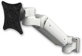 ICWUSA UL180シリーズ モニターアーム ディスプレイ用アーム 昇降式アーム 病院設備, 医療, ヘルスケア, デンタル, 歯科, ガススプリング内蔵タイプ, ウォールマウント, 壁, UL180シリーズ, VESAマウント UL180BV-W5 壁面固定 壁取付
