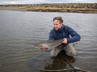 Fly Fishing, Las Buitreras, Seatrout