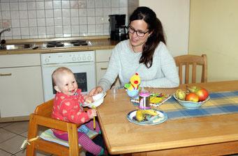 Wohnungen mit Baby- und Kleinkinderausstattung