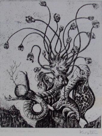 l'arbre de vie-eau-forte-30x40-1974