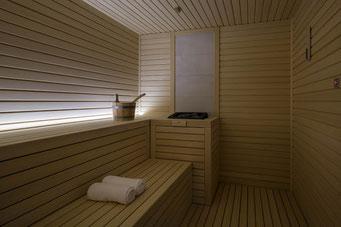 Realizzazione saune per SPA