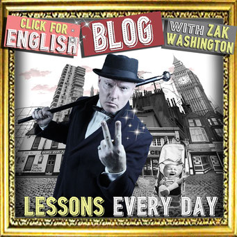 Click for English language blog - lessons every day