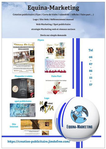 Création flyers / cartes de visite / banderoles / faire part