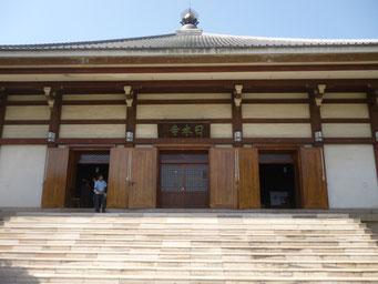印度山日本寺の本堂