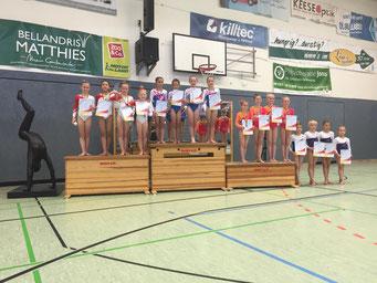 so sehen Sieger aus - TTS Pokal in Buchholz