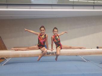 Maya und Lara im Turnteam Bayern