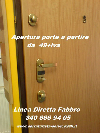 Pronto intervento fabbro a daverio