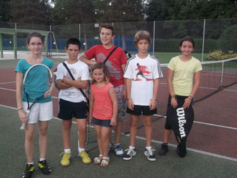 Ecole tennis mercredi