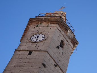 restoration-stone-clock-tower-gonfaron-var-83-before-historical-monument