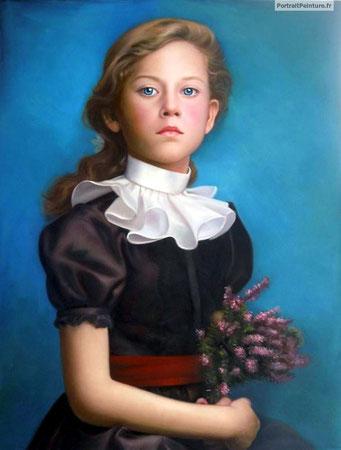portrait-peinture-fille