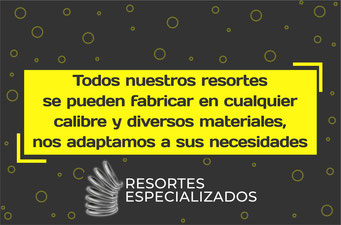 resortes Querétaro, fabricación de resortes industriales, venta de resortes, resortes industriales en Querétaro, resortes de compresión