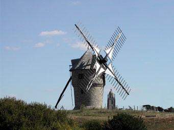 moulin de Batz sur mer