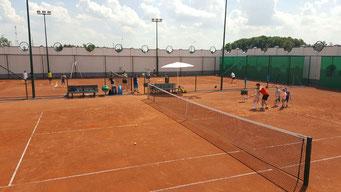 Новая Москва, улица малая Летовская. Фитнес клуб и школа тенниса TENNIS.RU