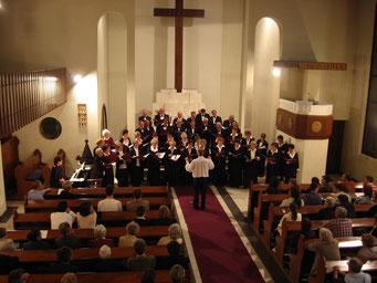2° concert à l'église évangélique d'Obudai