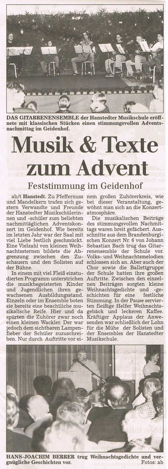 Winsener Anzeiger 04.12.2000