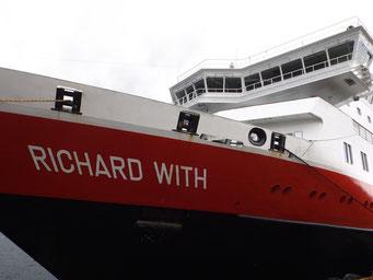 Richard With - Hurtigruten ship