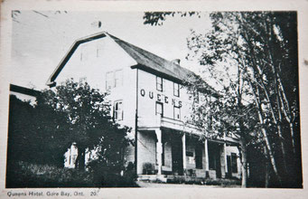 Vintage Photo of the Queen's Hotel