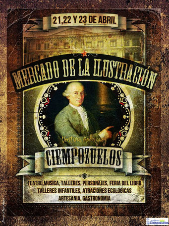 Programa del Mercado de la Ilustración en Ciempozuelos