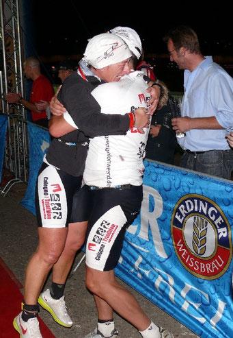 Nicole und Udo im Ziel des Cologne 226.