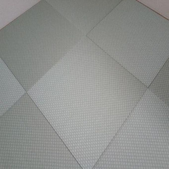 琉球畳(縁無し畳)セキスイ美草 市松グリーン 半畳9枚