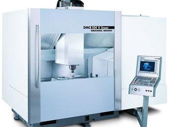 DMG DMC 104 V / 3D-Steuerung: Heidenhain iTNC 530