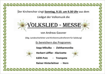 Einladung zur Volksliedmesse (PDF)