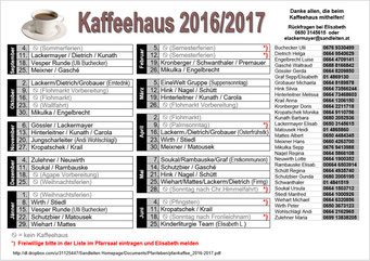 Diensteinteilung 2016/2017 (PDF)