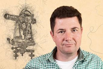 Nico Triebel, Vermessungstechniker