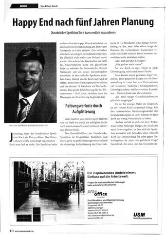 Weser-Ems Manager 2/09, S.10