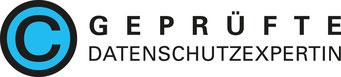 Logo über Zertifizierung als Datenschutzexpertin
