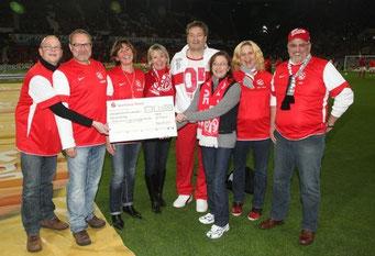 09.11.2012 Scheckübergabe in der Coface Arena - 1.FSV Mainz 05 gegen 1.FC Nürnberg