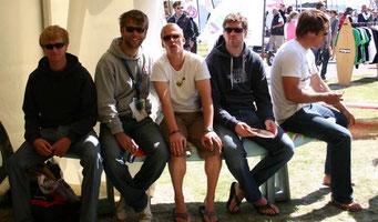 Alex Zachen, Alex(Teammanger), Henning, Nils, Leif