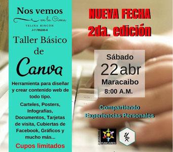 Taller Básico de Canva - Yelixa Rincón