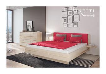 100 % metallfrei Unsere Betten sind komplett frei von Metallen und Kunststoffen. Es wird ausschließlich der Naturstoff Holz verarbeitet.Metallfreie Zirbenbetten, Zirben Bett, Eichen Bett Kastanie, Wildeiche