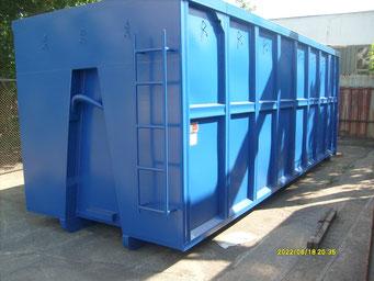 Abrollcontainer mit Spanten