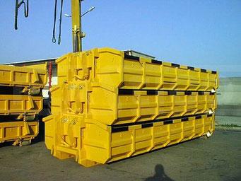 stapelbare Bauschuttcontainer
