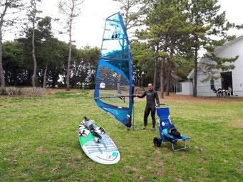 ウインドサーフィン SUP 海の公園 スクール 初心者 神奈川県 横浜 speedwall スピードウォール