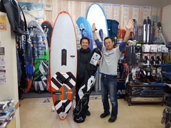 ウインドサーフィン 横浜 スピードウォール 神奈川 スクール