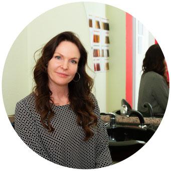 Selbstständige Friseurmeisterin Sandra Russau