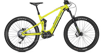 Focus Jam² 6.7 Plus e-MTB Fully 2019 black lime