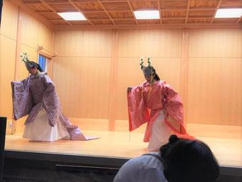 八坂神社 奉納舞
