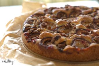 Zwetschgen, Zwetschgenkuchen, Kuchen, schneller Kuchen, Herbstrezepte