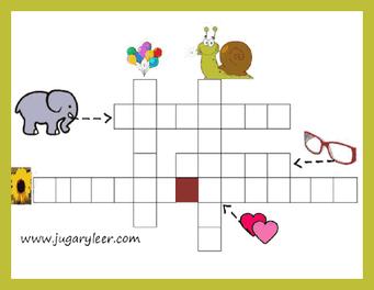 crucigramas infantiles con imágenes