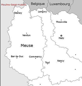 Carte Moulins-Saint-Hubert