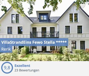 Bewertungen der FeWo Stella