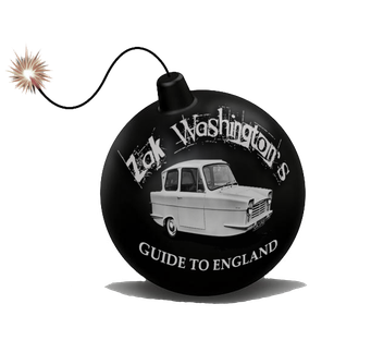 Logo for Zak Wasshington's Guide to England