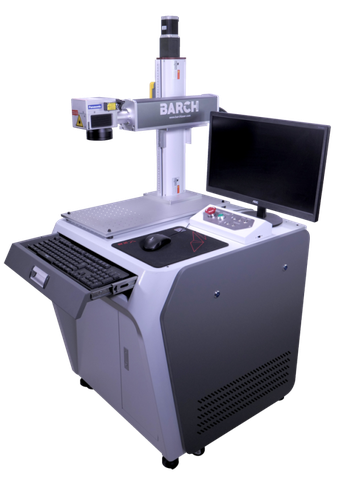 Fiber laser engraving machine with PC