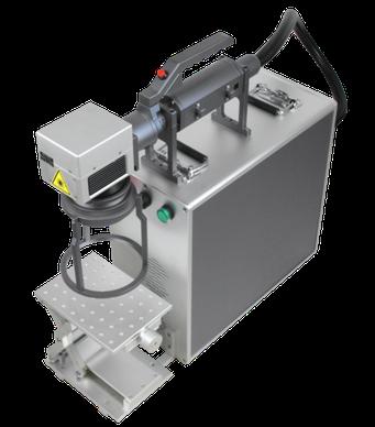 Laser handheld, griping laser engraving